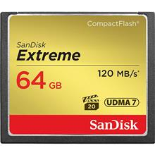SanDisk CompactFlash Memory Card 800X Extreme 64GB